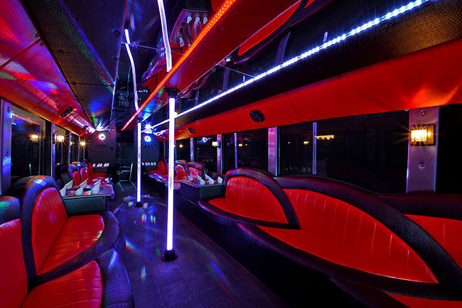 Ft Worth Limo Party Bus Vehicles